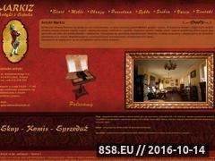 Miniaturka domeny www.markizantyki.pl