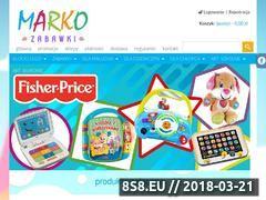 Miniaturka domeny www.markozabawki.pl