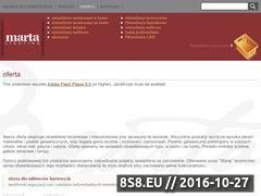 Miniaturka domeny www.marta-oswietlenie.pl