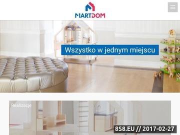 Zrzut strony Okna, drzwi, panele - Kraków, Słomniki - Martdom.pl
