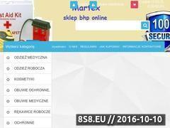 Miniaturka domeny www.martexbhp.pl