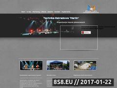 Miniaturka domeny www.martin-scena.pl