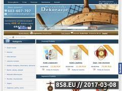 Miniaturka domeny www.marynistyka-dekoracje.pl