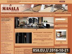 Miniaturka domeny masala.com.pl