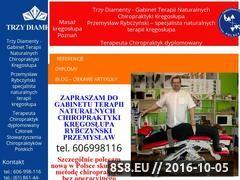 Miniaturka domeny www.masaz-kregoslupa-poznan.pl
