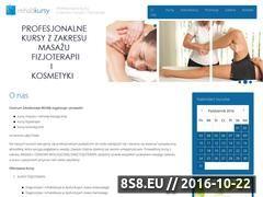 Miniaturka domeny www.masaz-kursy.com.pl