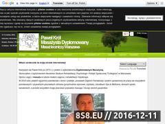 Miniaturka domeny masaz-leczniczy.com