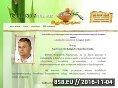 Miniaturka masaz-legnica.pl (Fizjoterapia i masaż <strong>legnica</strong>)