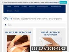 Miniaturka domeny masaz-ursynow.pl
