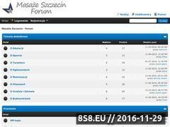 Miniaturka domeny www.masaze.szczecin.pl