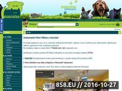Miniaturka domeny www.mascotas.pl