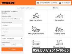 Miniaturka domeny www.mascus.pl