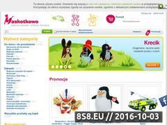 Miniaturka domeny www.maskotkowo.pl