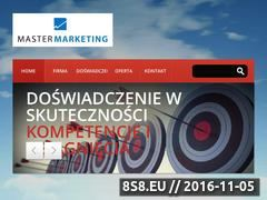 Miniaturka domeny www.master-marketing.pl