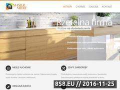 Miniaturka domeny www.master-meble.pl