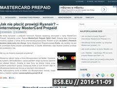 Miniaturka domeny mastercardprepaid.pl