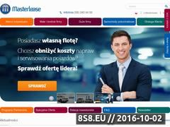 Miniaturka domeny www.masterlease.pl