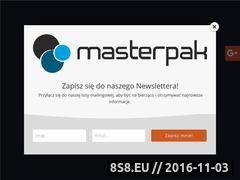 Miniaturka domeny www.masterpak.pl