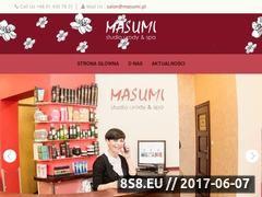 Miniaturka domeny www.masumi.pl
