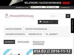 Miniaturka domeny maszynydoszycia.eu