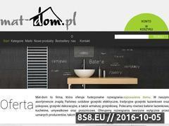 Miniaturka Mat-Dom oferuje grzejniki łazienkowe (mat-dom.pl)