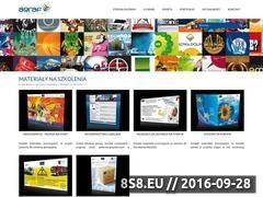 Miniaturka domeny www.materialyszkoleniowe.eu