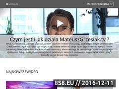 Miniaturka domeny mateuszgrzesiak.tv