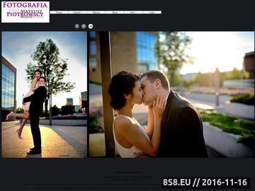 Zrzut strony Fotografia Ślubna Rzeszów - Kasia i Mateusz Piotrowscy