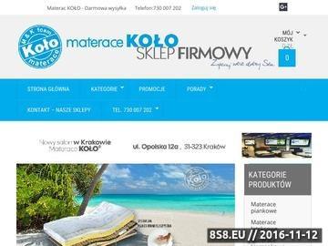Zrzut strony Materace Wrocław