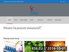 Miniaturka matura-kursy.pl (Korepepetycje, kursy maturalne i gimnazjalne - Bielsko-Biała)