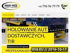 Miniaturka domeny max-hol.pl