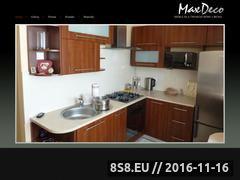 Miniaturka domeny www.maxdeco.pl