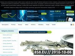 Miniaturka domeny www.maxev.pl