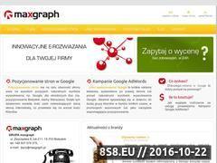 Miniaturka domeny www.maxgraph.pl