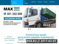 Miniaturka domeny maxgruz.pl