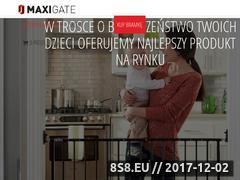 Miniaturka domeny maxigate.pl