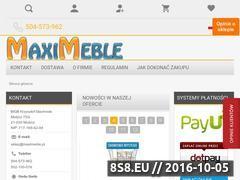 Miniaturka domeny www.maximeble.pl