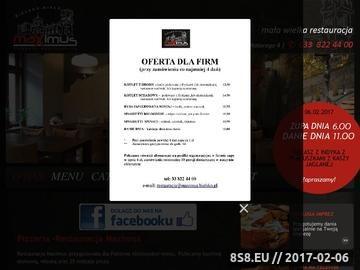 Zrzut strony Restauracja, Catering Bielsko Biała