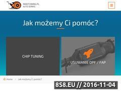 Miniaturka domeny www.maxituning.pl