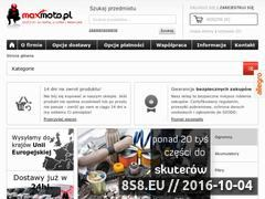 Miniaturka domeny maxmoto.pl