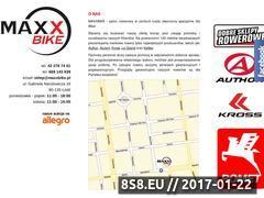 Miniaturka domeny www.maxxbike.pl