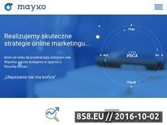 Miniaturka Agencja SEO/SEM (mayko.pl)