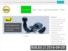 Miniaturka mazico.pl (Montaż, serwis i sprzedaż części samochodowych)