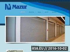 Miniaturka domeny www.mazur.szczytno.pl