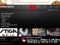 Miniaturka domeny www.mbprojekt.eu