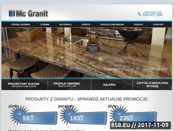 Zrzut strony Parapety granitowe Poznań Blaty granitowe Poznań