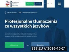 Miniaturka domeny mct-tlumaczenia.pl