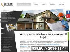 Miniaturka domeny md-projekt.pl