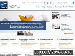 Miniaturka Usługi doradcze i konsultingowe, optymalizacja (mddp-bc.pl)