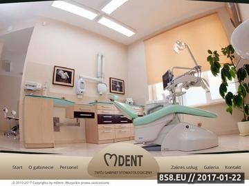 Zrzut strony Dentysta Bielsko oferuje wysokiej jakości implanty